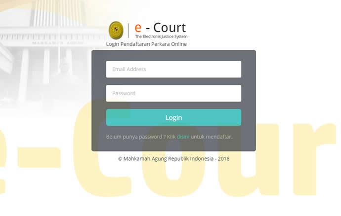 Pengenalan E-Court